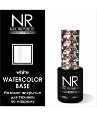 Базовое покрытие WATERCOLOR BASE (белая) Nail Republic, 10 мл