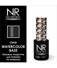 Базовое покрытие WATERCOLOR BASE (прозрачная) Nail Republic, 10 мл