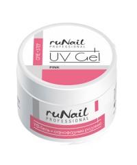 RUNAIL, Гель DUST-FREE, розовый (произведен в России), 30 гр.