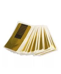 Формы для наращивания узкие золото, 20 шт