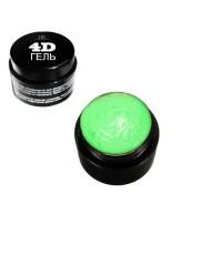 """4D Гель для дизайна ногтей """"TNL""""  №8 (неоново-зеленый) 8 мл."""