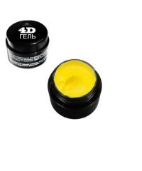"""4D Гель для дизайна ногтей """"TNL""""  №7 (неоново-желтый) 8 мл."""