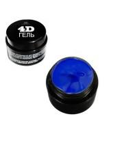 """4D Гель для дизайна ногтей """"TNL""""  №4 (темно-синий) 8 мл."""