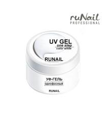 RUNAIL, Однофазный белый гель (произведен в России), 15 гр.