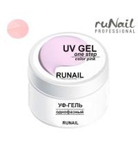 RUNAIL, Однофазный розовый гель (произведен в России), 30 гр.