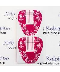 Одноразовые формы 10 шт розовые