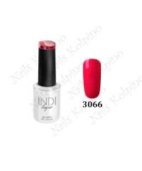 Гель-лак INDI 3066, ярко-розовый, эмалевый