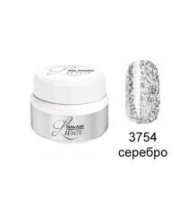 RUNAIL, Гель-лак Lurex, серебро 3754