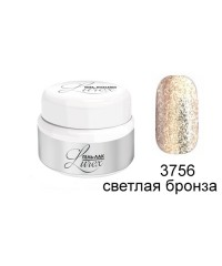RUNAIL, Гель-лак Lurex, светлая бронза 3756