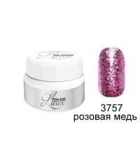 RUNAIL, Гель-лак Lurex, розовая медь 3757