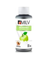 "Молочко для снятия лака MILV ""Яблоко"", 80 мл."