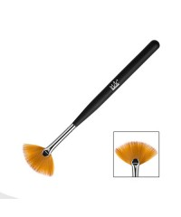 Кисть веерная для дизайна натуральный ворс, длина ручки 12,5см