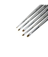 Набор кистей для китайской росписи (короткая ручка, 5 шт) №4