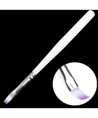 Кисть для геля короткая ручка