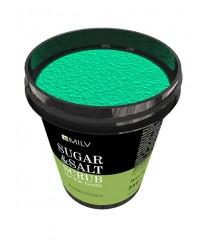 Сахарно-солевой скраб для тела «Зеленый чай» 250 гр