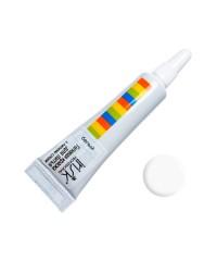 IRISK, Гелевая краска для литья с липким слоем в тубе (Белая), 5 мл. (США)