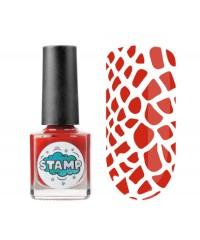 Лак-краска для стемпинга Stamp Classic, Красный барон, Франция, 8мл