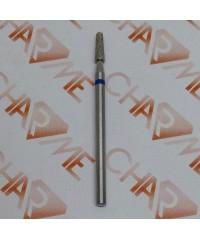 Фреза алмазная 5П-8,0С/8 конус с полусферой 025