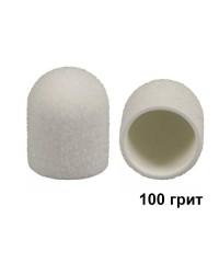 Колпачок для аппаратного педикюра белый 13-19 мм, 100 грит