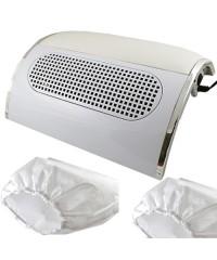Пылеуловитель-вытяжка для маникюра (три вентилятора)