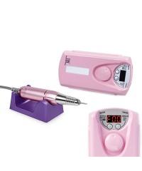 Машинка для маникюра и педикюра TNL Pro Touch 30 000 об/мин розовая