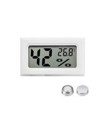 Измеритель влажности и температуры белый