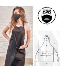 Фартук FSK Сатори чёрный