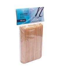 White line, шпатели деревянные для депиляции, 100 шт.