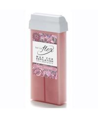 """ITALWAX, Тёплый воск в картридже Flex """"Кремовая роза"""" (для волос любой жесткости волос) 100 мл."""