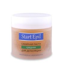 Start Epil, Сахарная паста для шугаринга, средняя 400 гр.