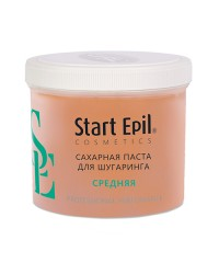 Start Epil, Сахарная паста для шугаринга, средняя 750 гр.