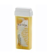 """ITALWAX, Тёплый воск в картридже """"Лимон"""" (для жестких, коротких волос) 100 мл."""