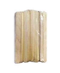 Шпатели деревянные для нанесения воска большие Italwax, 60шт