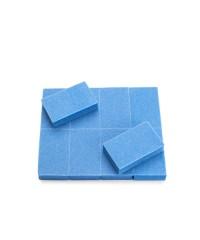 Набор шлифовщиков для натуральных ногтей (10 штук), 5X3 см.