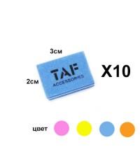 Шлифовщик TAF для натуральных ногтей 100/180 грит. (малый) 10шт
