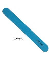 Пилка тонкая на деревянной основе синяя 100/180 грит