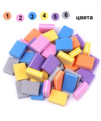 Набор шлифовщиков для натуральных ногтей мини, 50 штук