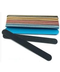 Пилки на деревянной основе цветные 100/120 грит, 1шт
