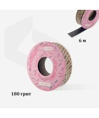 Запасной блок файл-ленты papmAm для пластиковой катушки Bobbinail STALEKS PRO, 180 грит. 6 метров