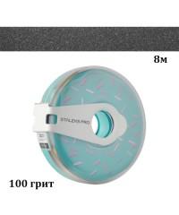 Сменный файл-лента в пластиковой катушке STALEKS PRO 100 грит 8 метров
