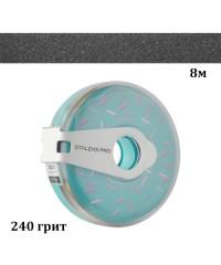 Сменный файл-лента в пластиковой катушке STALEKS PRO 240 грит 8 метров