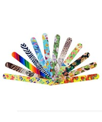 Пилка для ногтей с дизайном 120/180, Корея (в ассорт.)