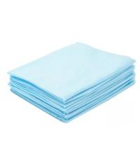 Простыни одноразовые голубые в пачке 70*200 SMS 17, 50 шт