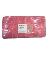 """Салфетки из спанлейс одноразовые  розовые 30*30 см """"White Line"""" 100 шт."""