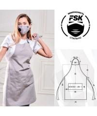Фартук FSK ТиСи серый