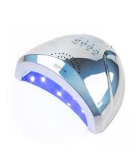 Лампа LED/UV SUN ONE металлик серебро, 48 Вт
