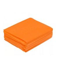White line, Простыни одноразовые оранжевые в пачке 70*200 SMS 17, 10 шт