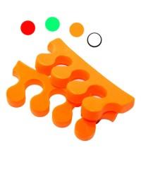 Разделители для пальцев ног 5 пар, цвет в ассорт.