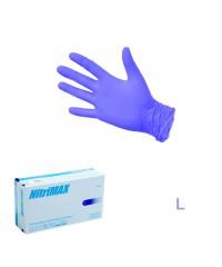 Nitrimax, Перчатки нитриловые неопудренные синие (размер L), 50 пар