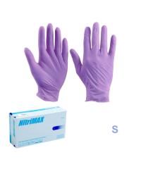Nitrimax, Перчатки нитриловые неопудренные сиреневые (размер S), 50 пар
